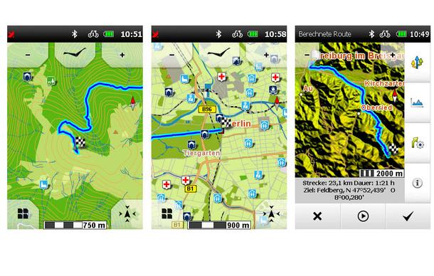 falk premium outdoor karte deutschland United Navigation – neues Premium Karten Update  Bike TV